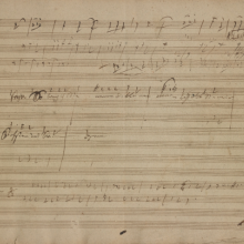 Beethoven Sketchbook for the Year 1815