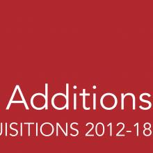 Welcome Additions Selected Acquisitions 2012-18