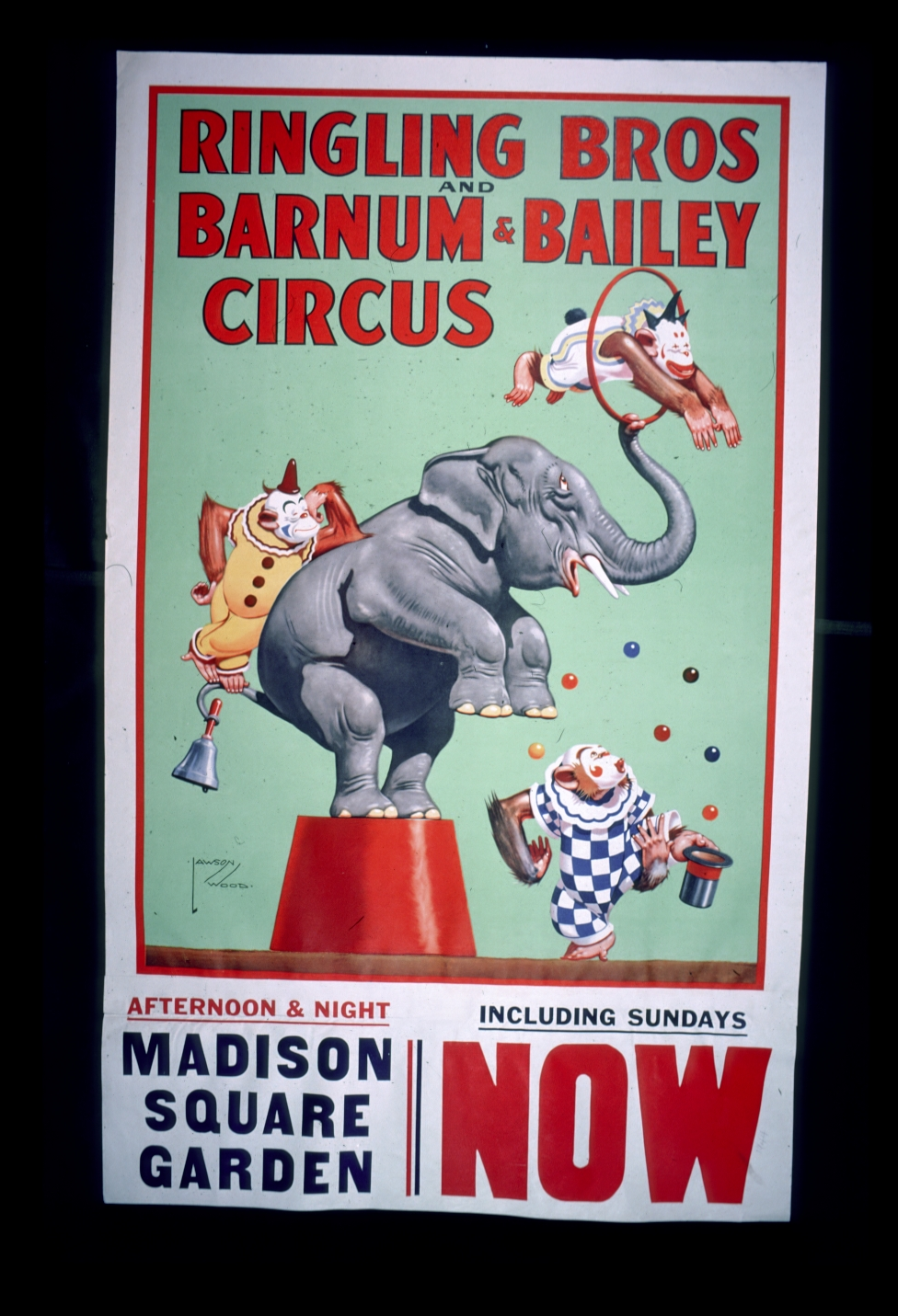 Circus Posters In The Princeton University Library Tc093