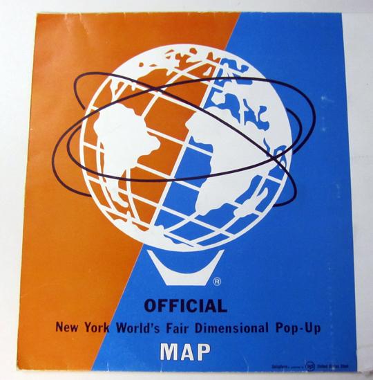 on 1964 world 39 s fair map