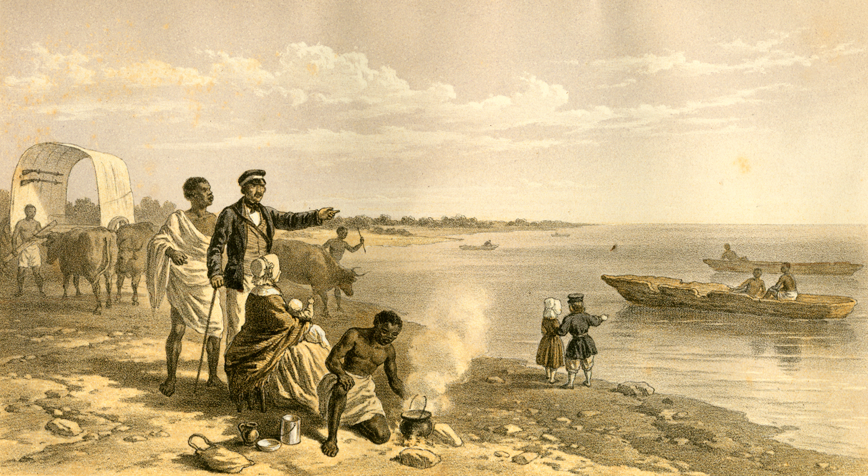 Discovering Lake Nagami, 1849. From Princetonu0027s Livnigstone Collection.  Dr Livingstone I Presume Movie