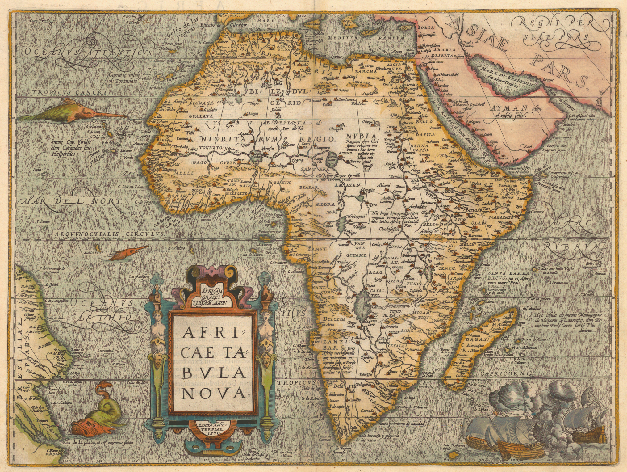 Oldest Map Of Africa Untitled Document