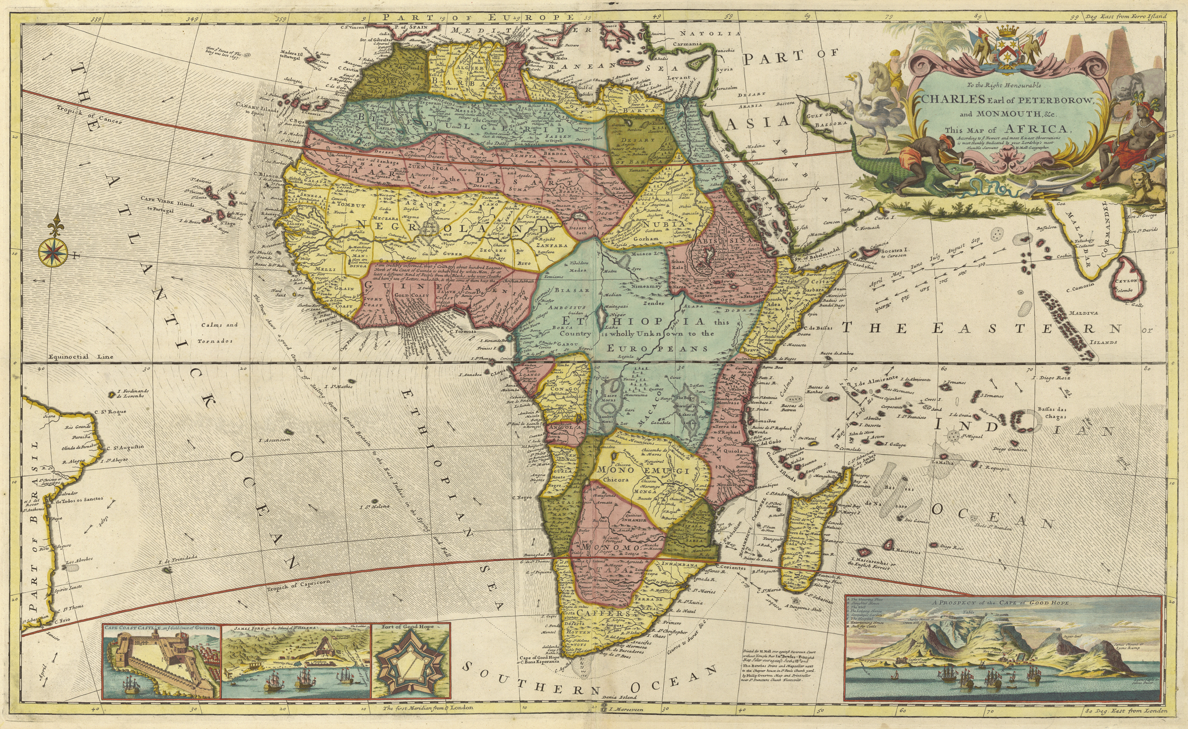 Africa mapped: how Europe drew a continent | News | The Guardian