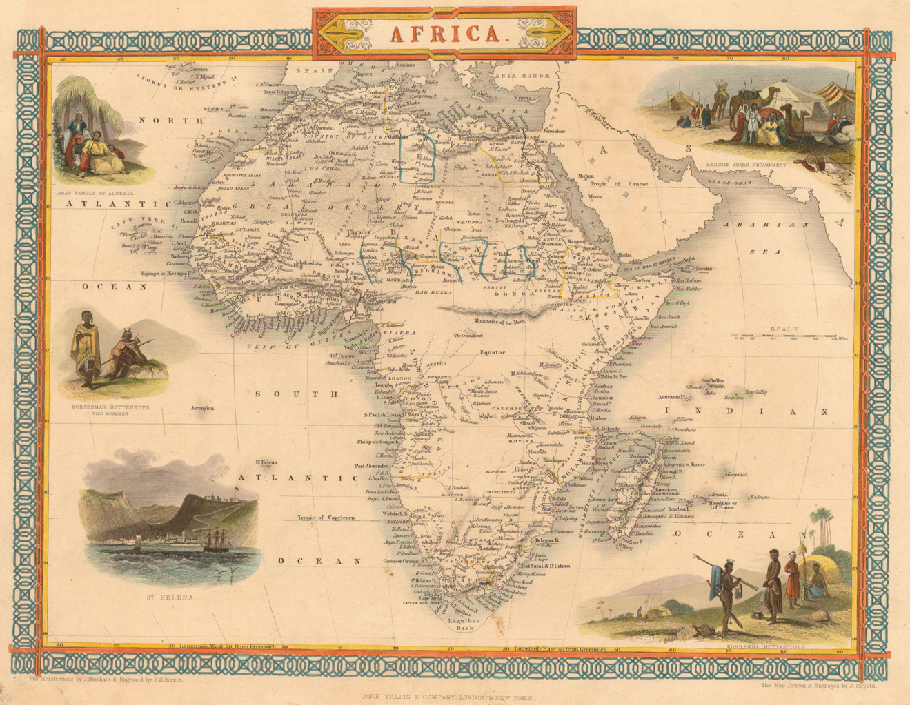 Africa Mapped How Europe Drew A Continent News The Guardian - Maps of africa