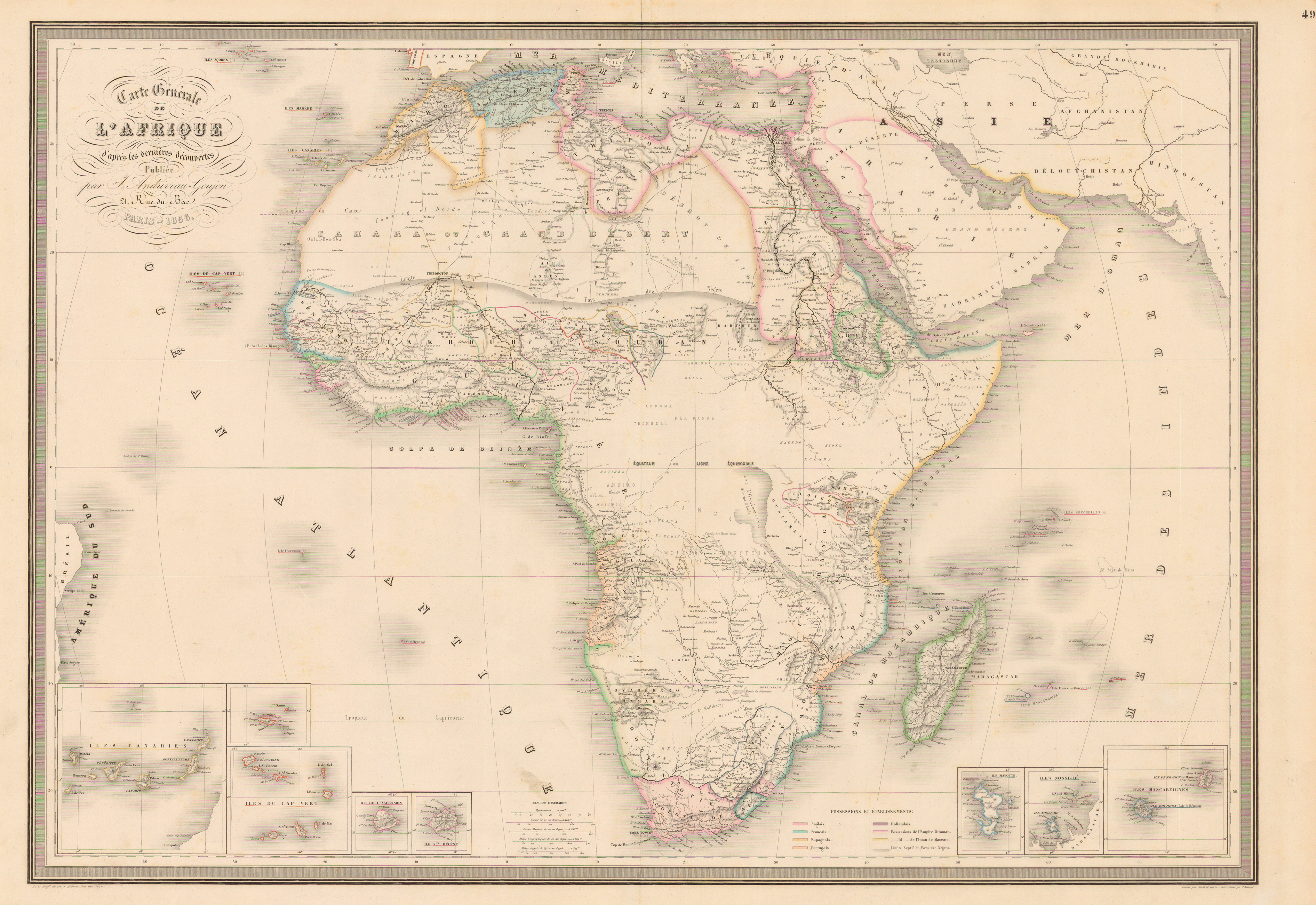 Africa mapped how europe drew a continent news the guardian fullscreen version gumiabroncs Images