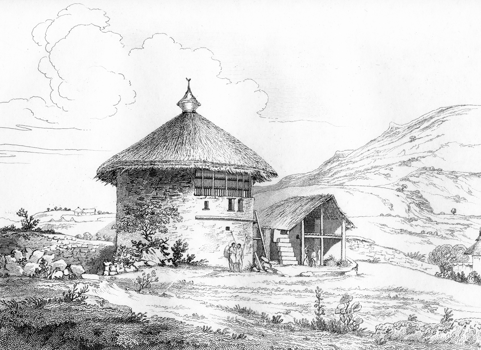 A sketch of mcpearces house at chelicut
