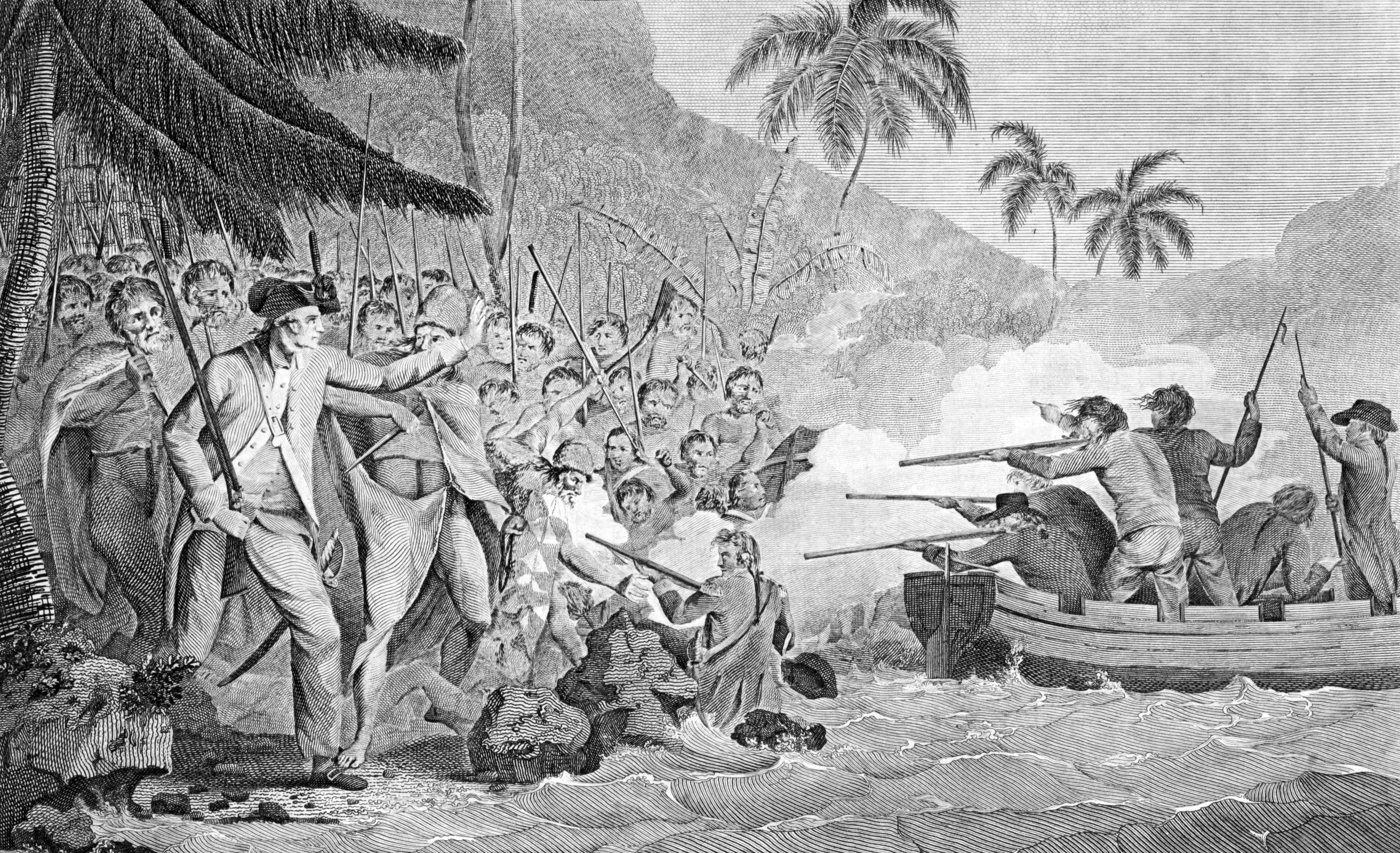 the history of the discovery of the hawaiian islands by captain james cook A brief history of the hawaiian islands captain james cook lands at waimea bay on the island of kauai discovery: in three historic.