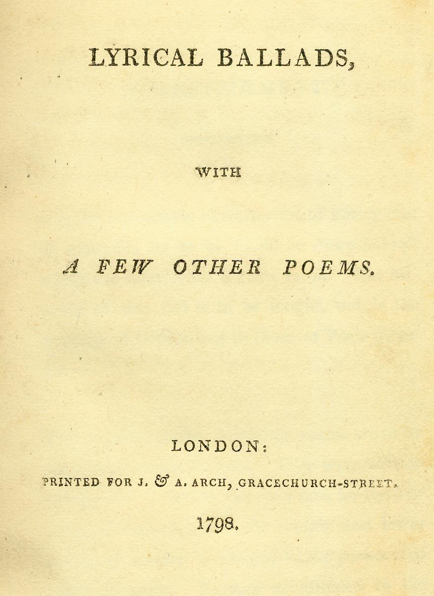 The preface to lyrical ballads summary
