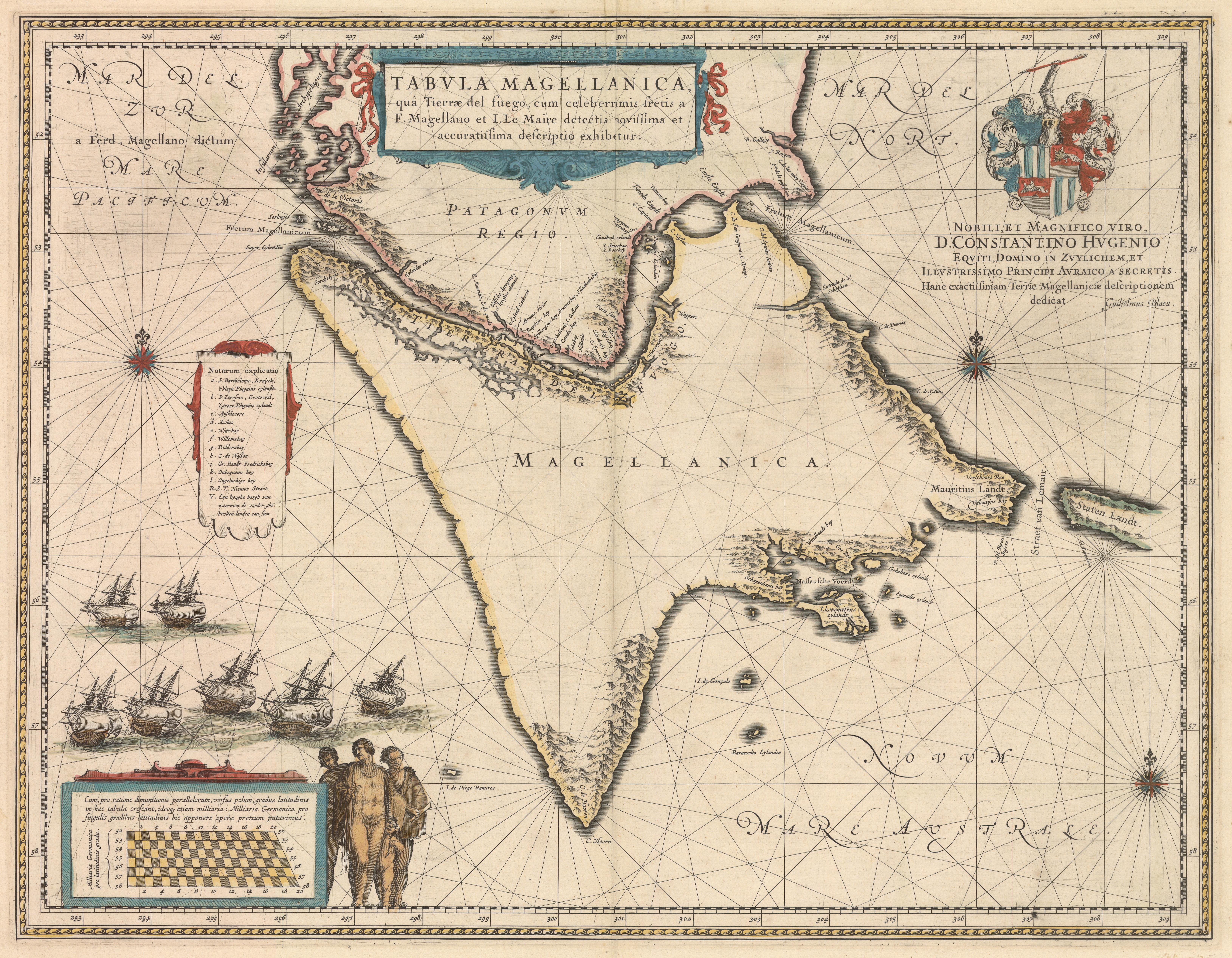 Magellan Strait Historic Maps - Argentina cape horn map