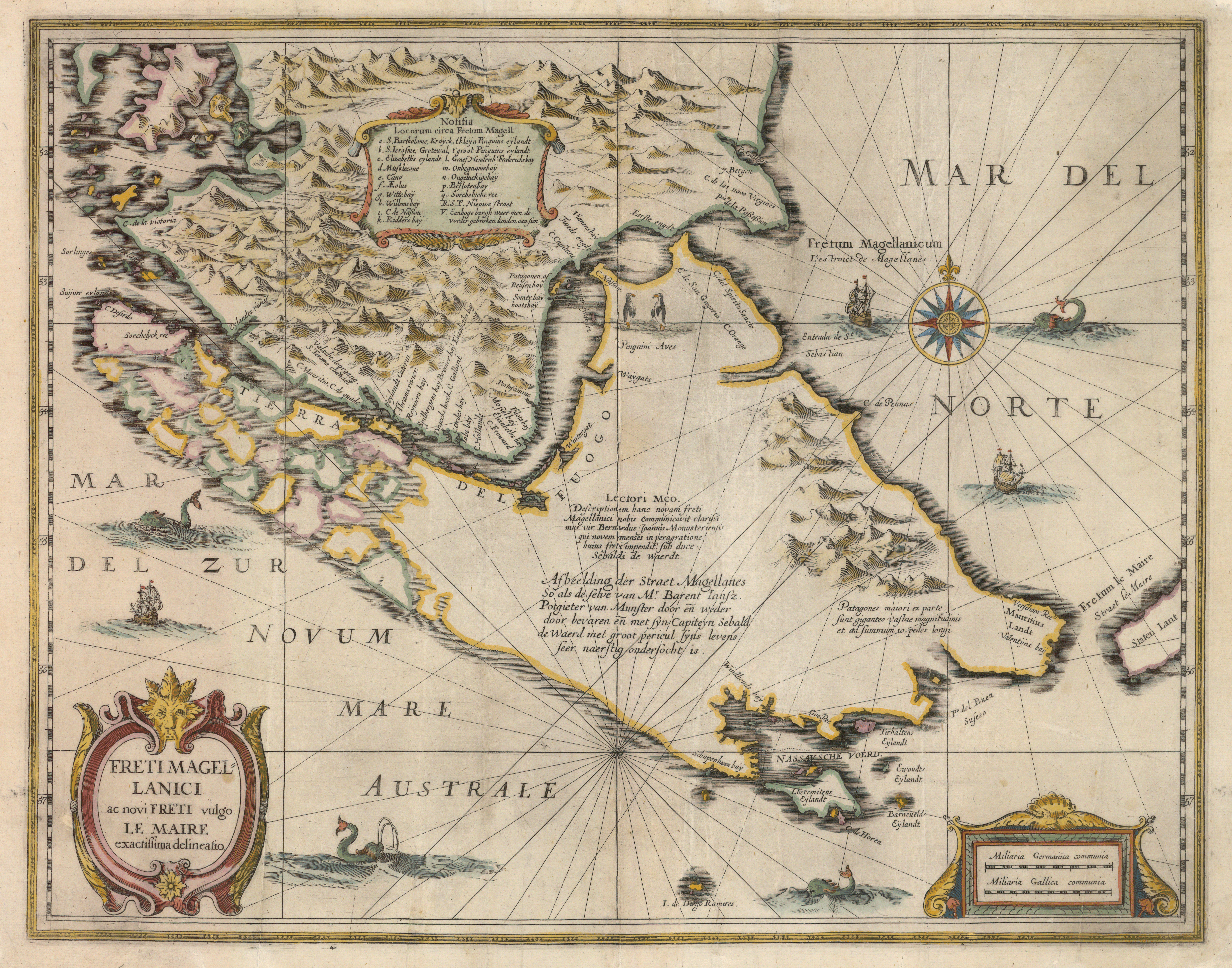 Magellan Strait Historic Maps