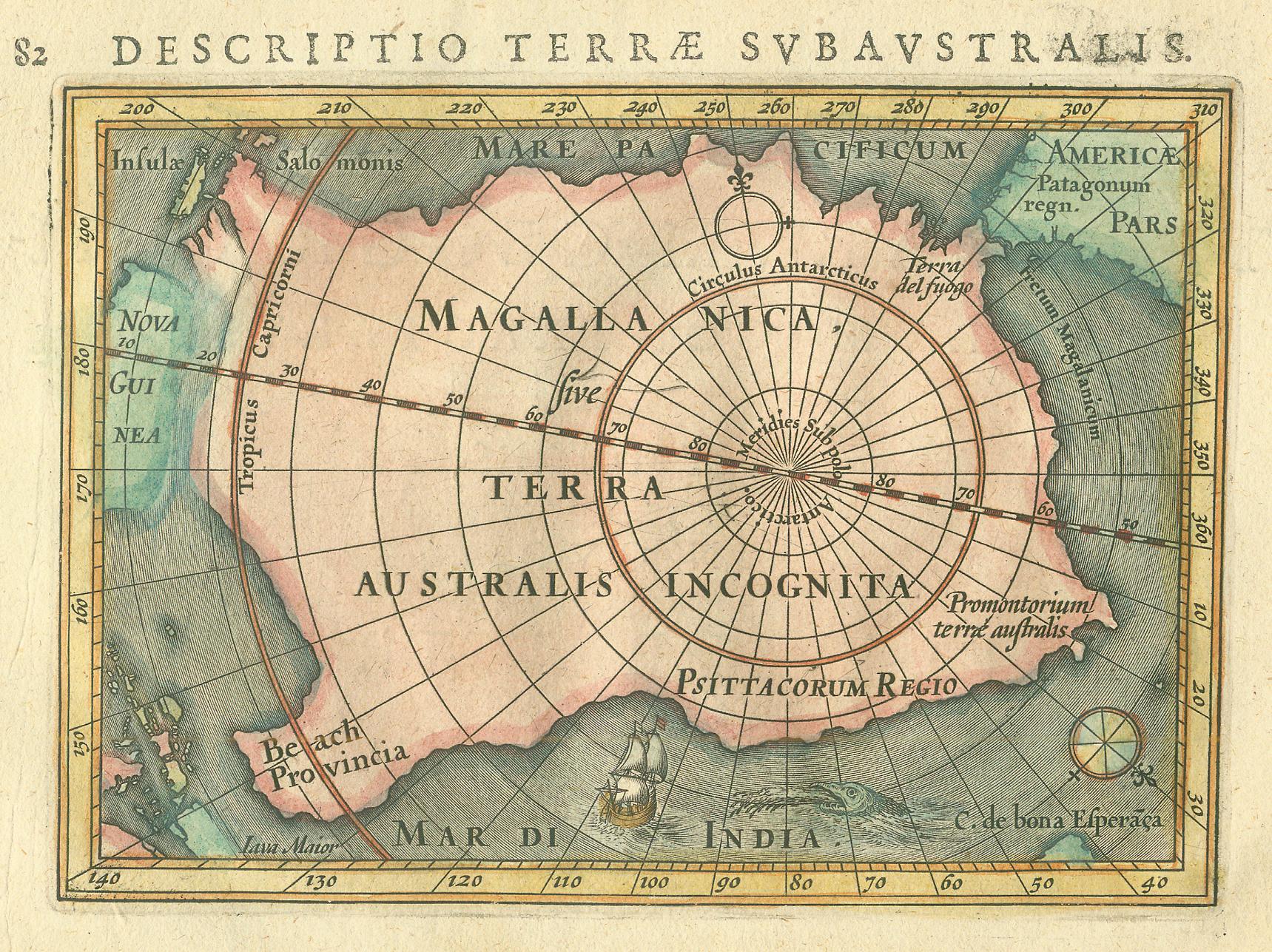"""Résultat de recherche d'images pour """"Terra Australis"""""""