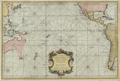 """pacific ocean map  ) oder der fünfte Welttheil"""""""