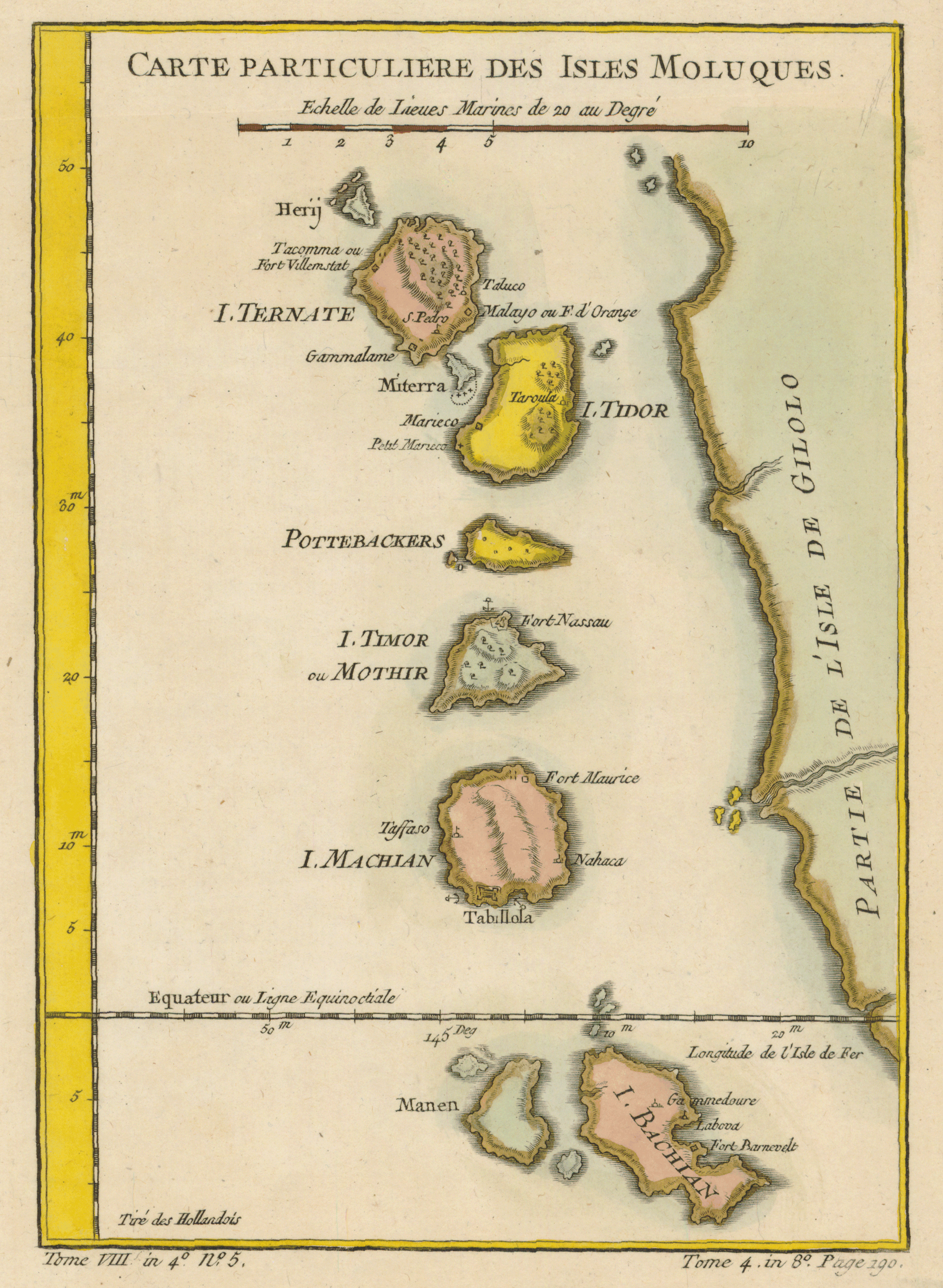 Spice Islands Historic Maps