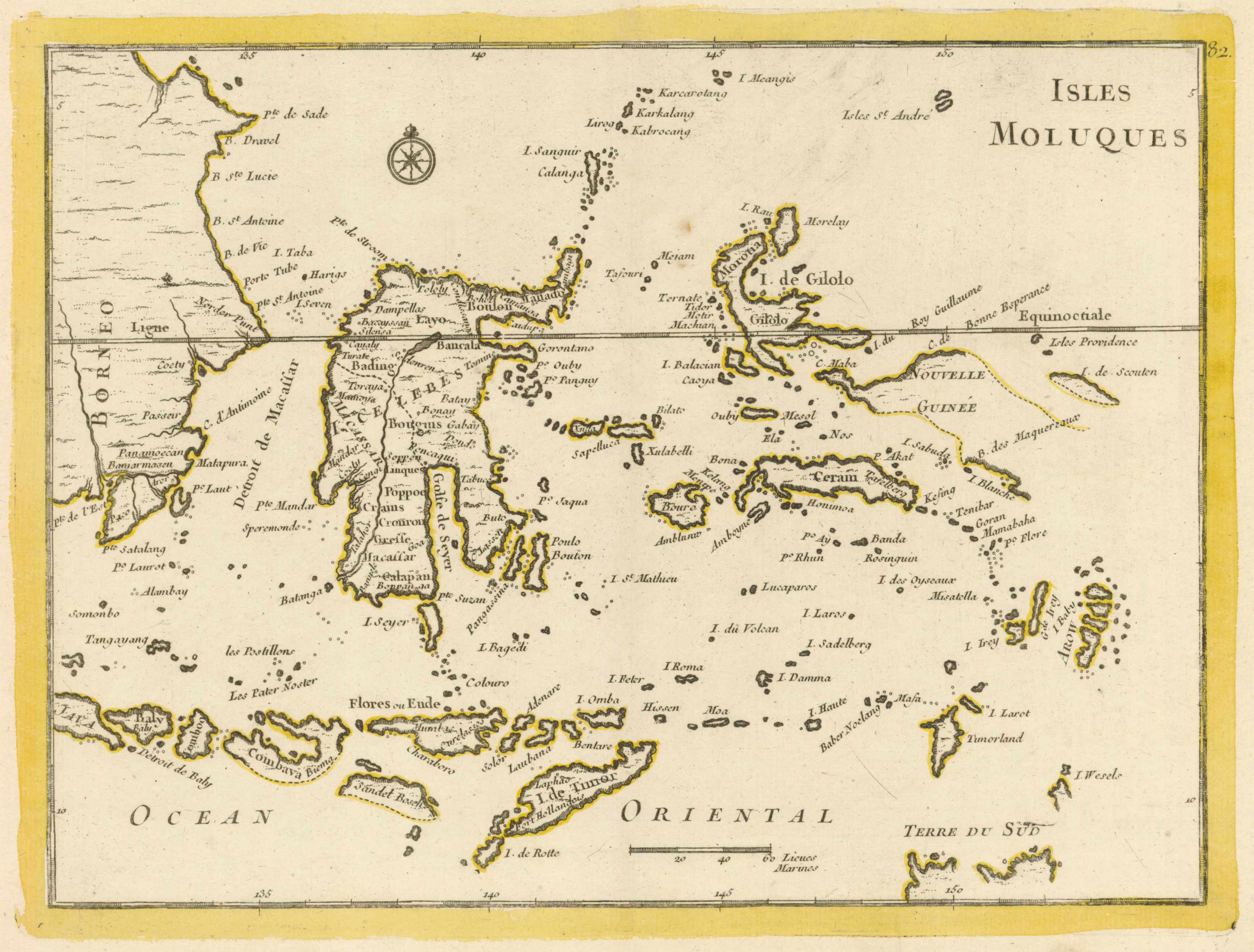 Spice Islands Historic Maps - Islands map