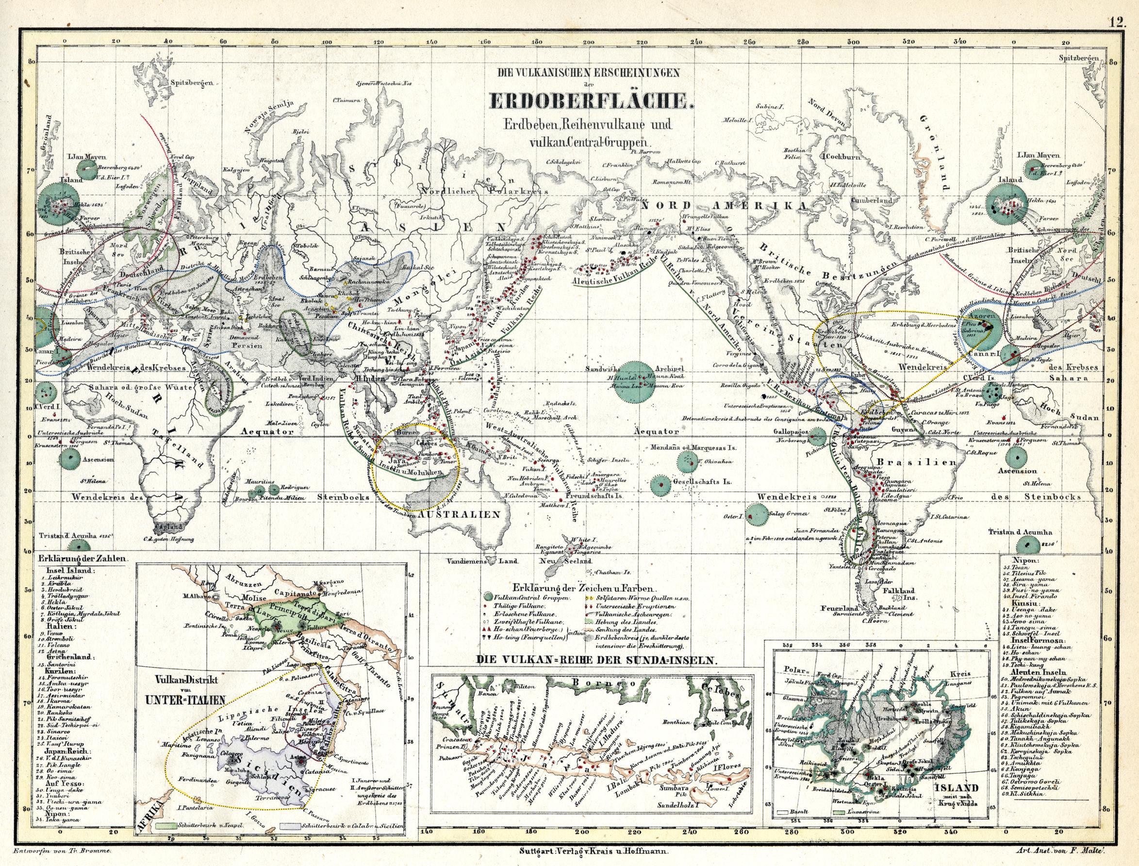 Cosmo Mexico Map.Alexander Von Humboldt