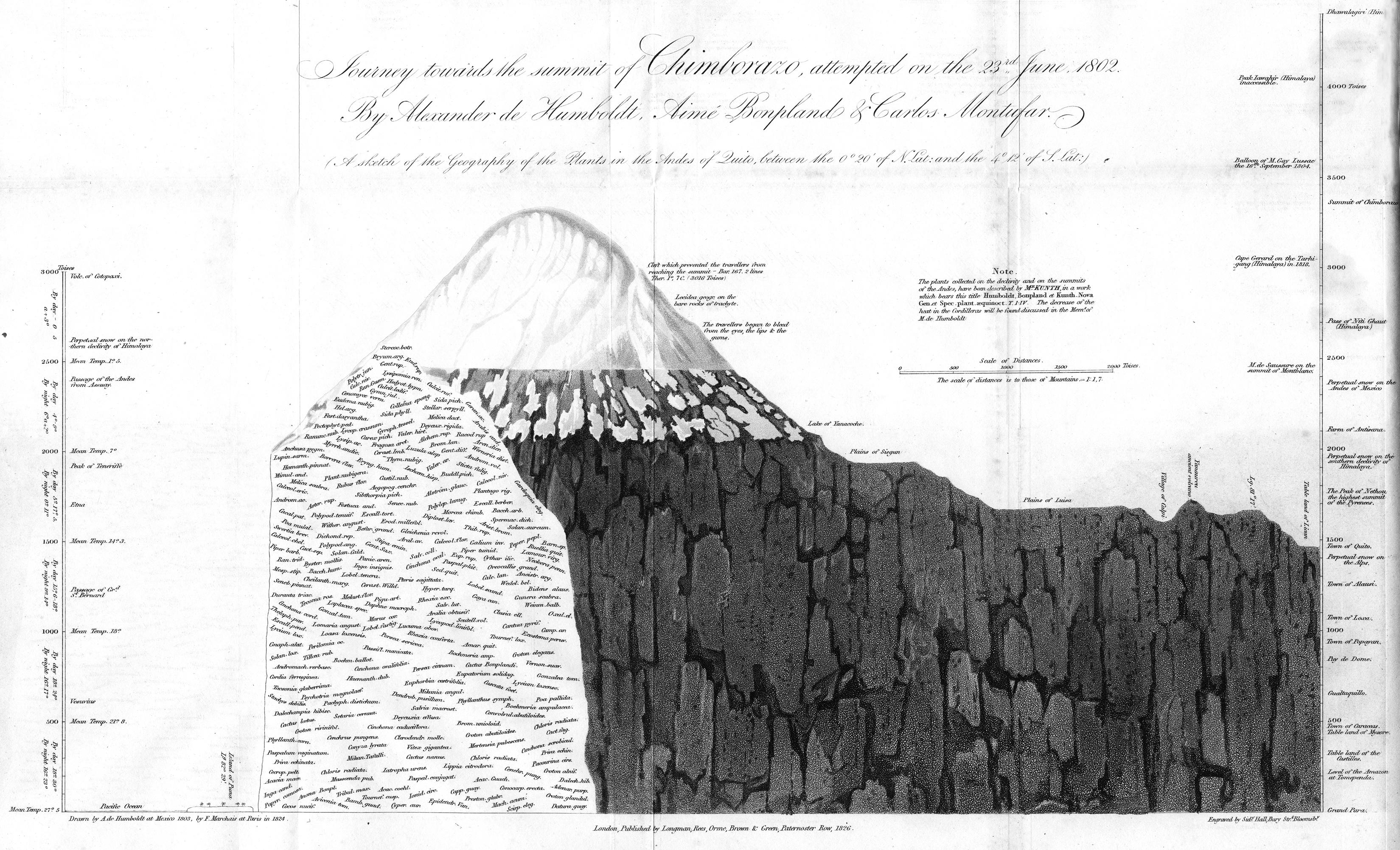 Humboldt Profile Chimborazo